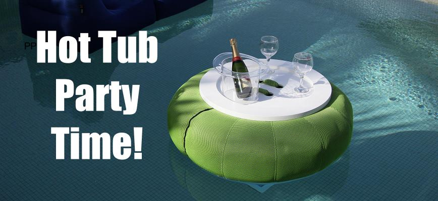 How to Throw a Hot Tub Party