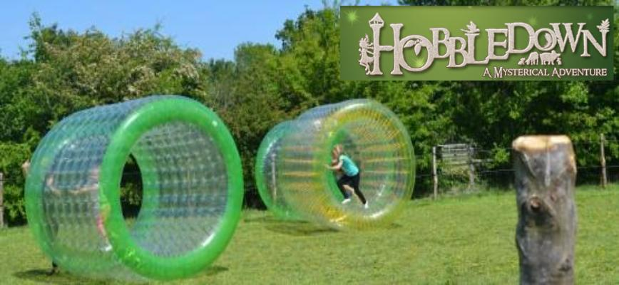 Not to be Boring - Go Zorbing!
