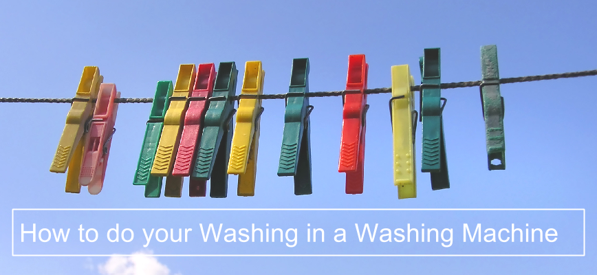 How to do your Washing in a Washing Machine