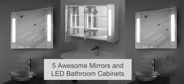 LED Bathroom Cabinets