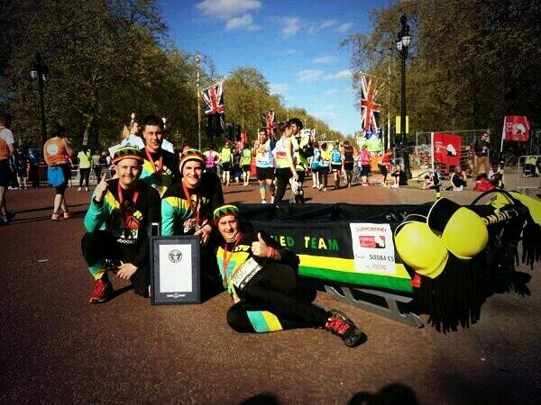 Virgin London Marathon - A Fancy Dress Fiesta
