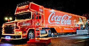 Christmas in Southampton - Coca Cola Lorry