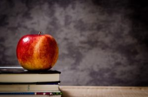 Asperger's Syndrome, apple, books, schooling.